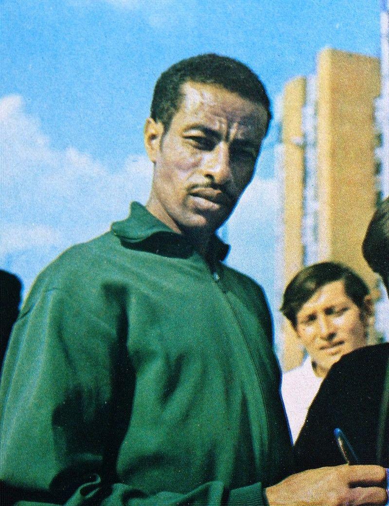 Abebe_Bikila_1972